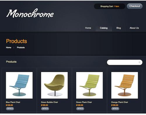 Online Sales Blue Colour